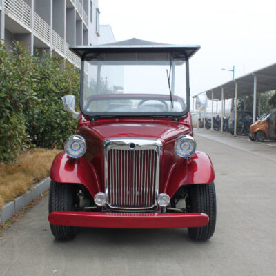 golf car classic red front